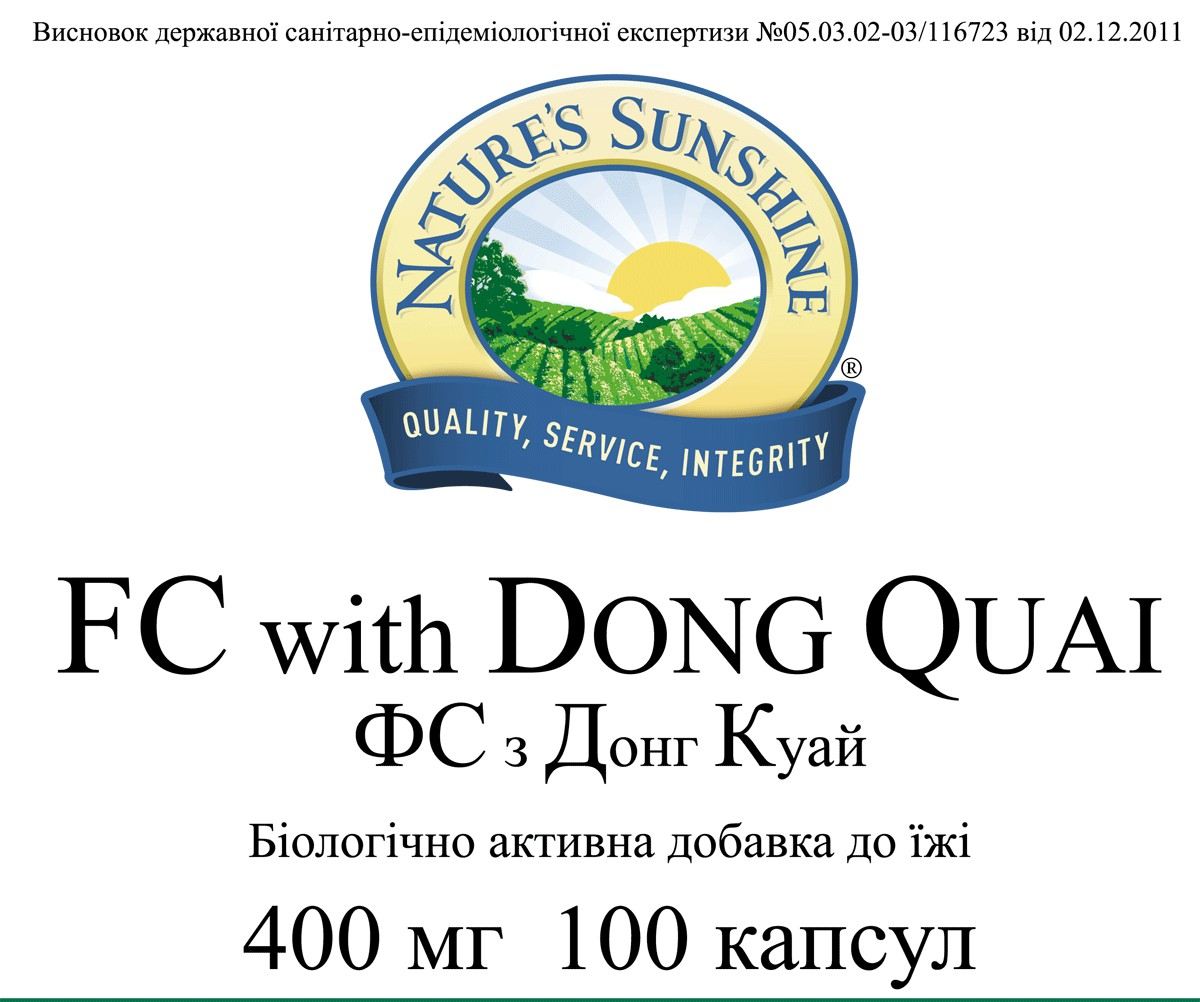 FC with Dong Quai [882] 20%