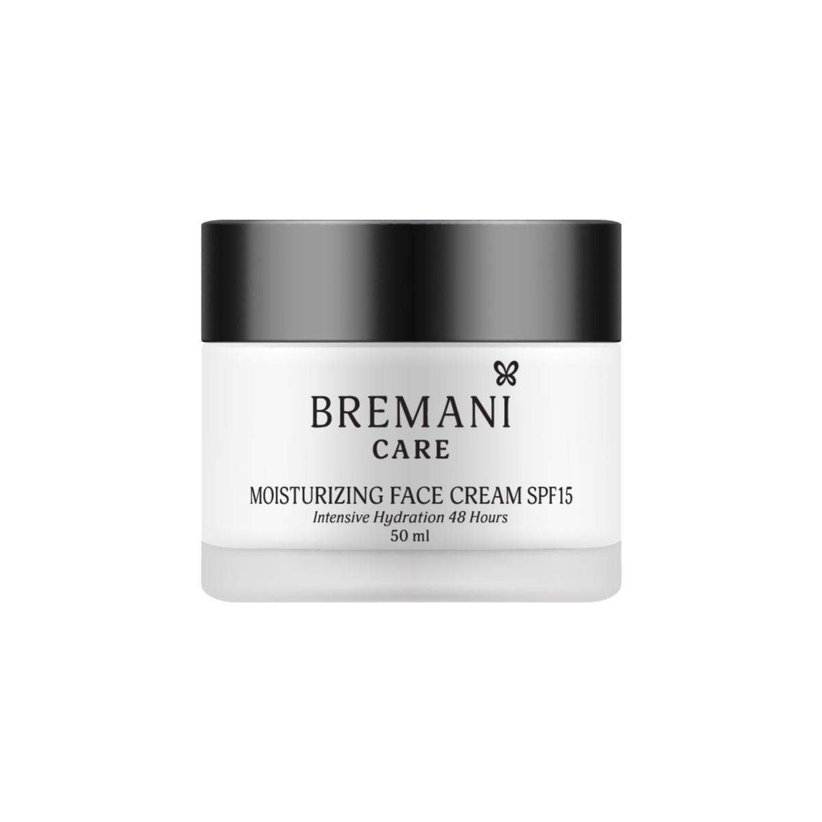 Moisturizing Face Cream. Intensive Hydration 48 Hours. SPF15