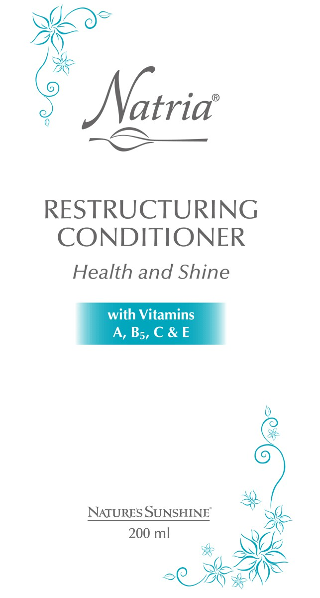 Restructuring Conditioner Health and Shine