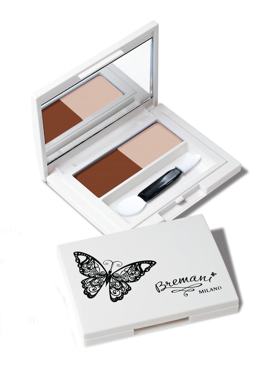 Набор 1+1: Eye Shadow Creamy Latte [61770] (-30%) (1 шт) + Lipstick Bremani Milano Merilyn [21506] (1 шт)