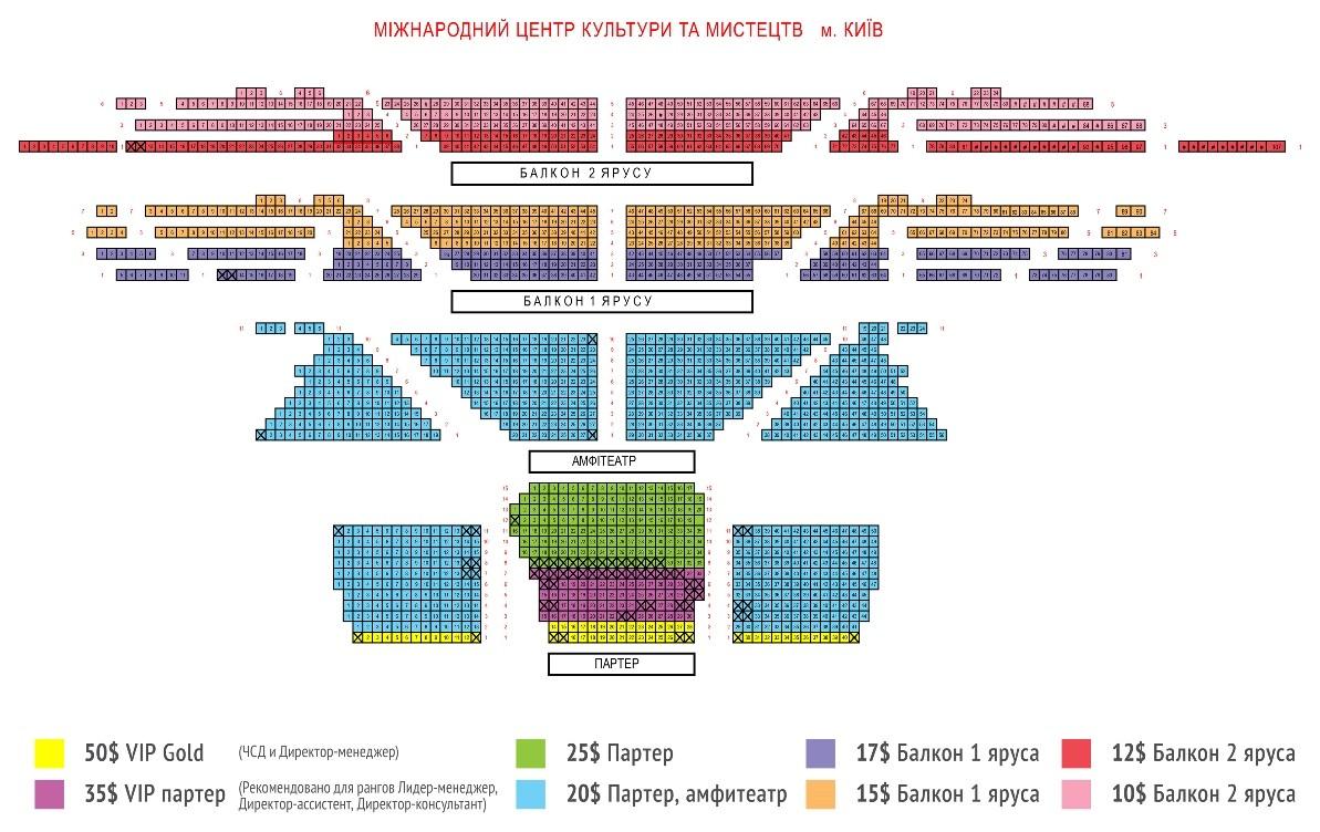 Билет ко Дню Рождения компании NSP (15 сентября, Киев)