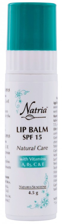 Lip Balm SPF 15 «Natural Care» [6036] -20%