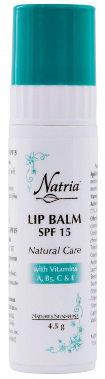 Lip Balm SPF 15 «Natural Care» [6036] -20%