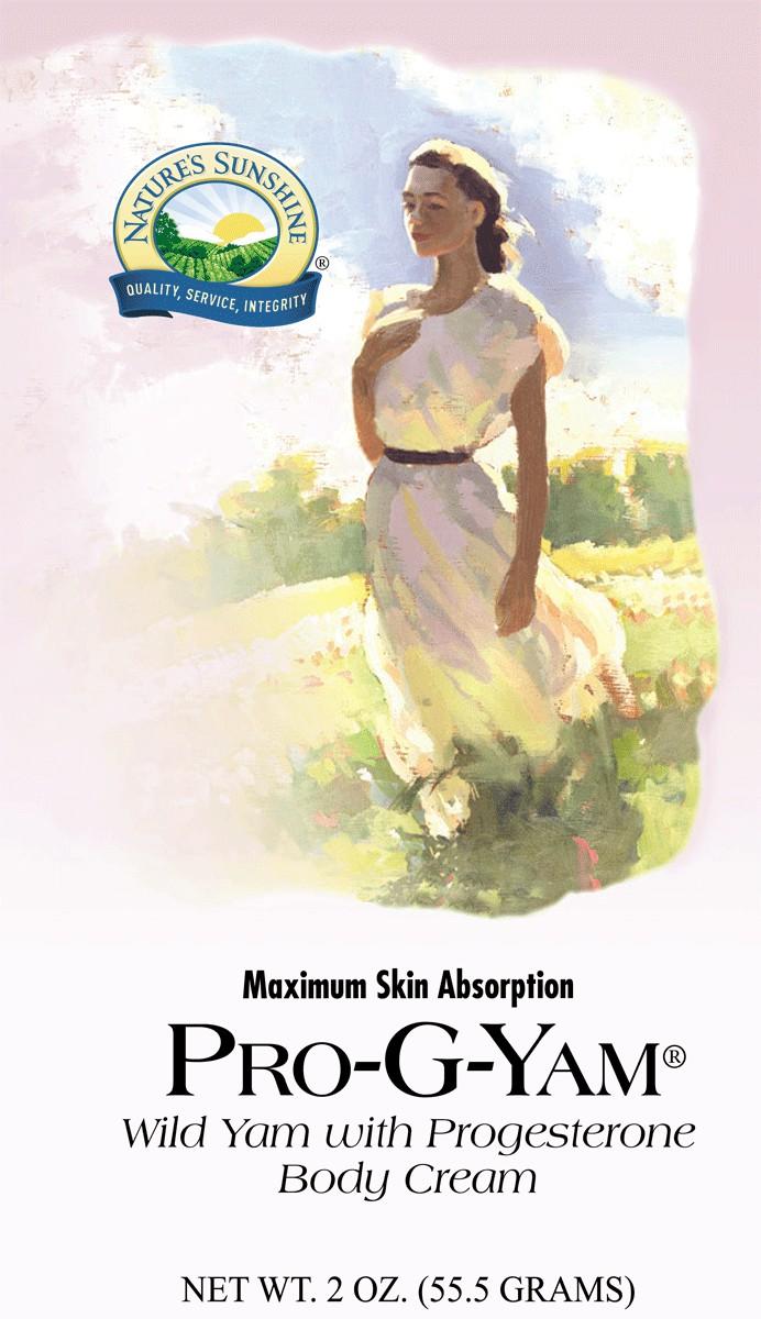 Pro-G-Yam Body Cream