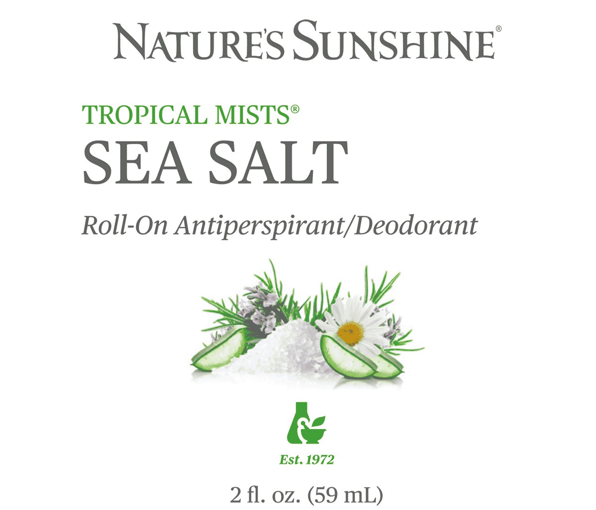 Sea Salt Roll-On Antiperspirant/Deodorant (в новой упаковке!)