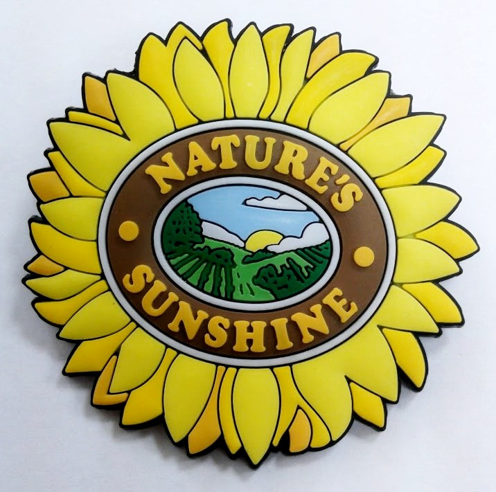 "Badge ""Sunflower"""