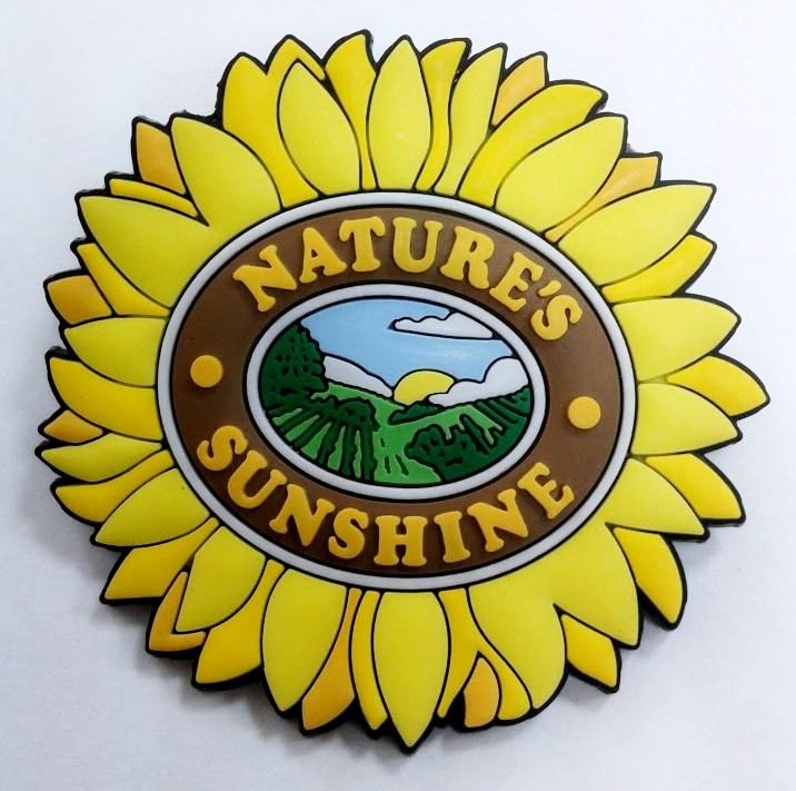 "Badge ""Sunflower"""