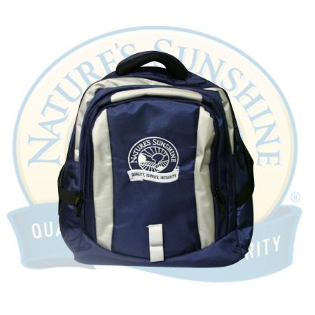 Рюкзак (серо-синий)