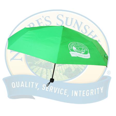 Зонт складной (зеленый) [1055S]