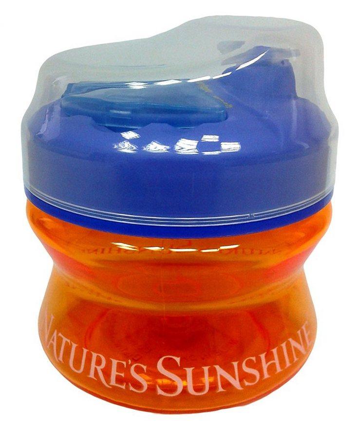 Бутылочка с отделениями для хранения таблеток [1057S]