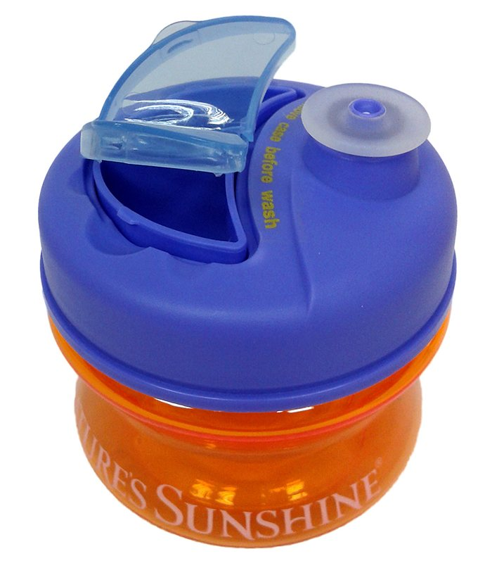 Бутылочка с отделениями для хранения таблеток