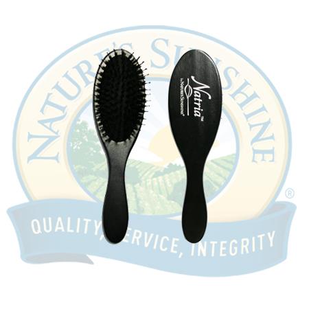 Hair brush massage