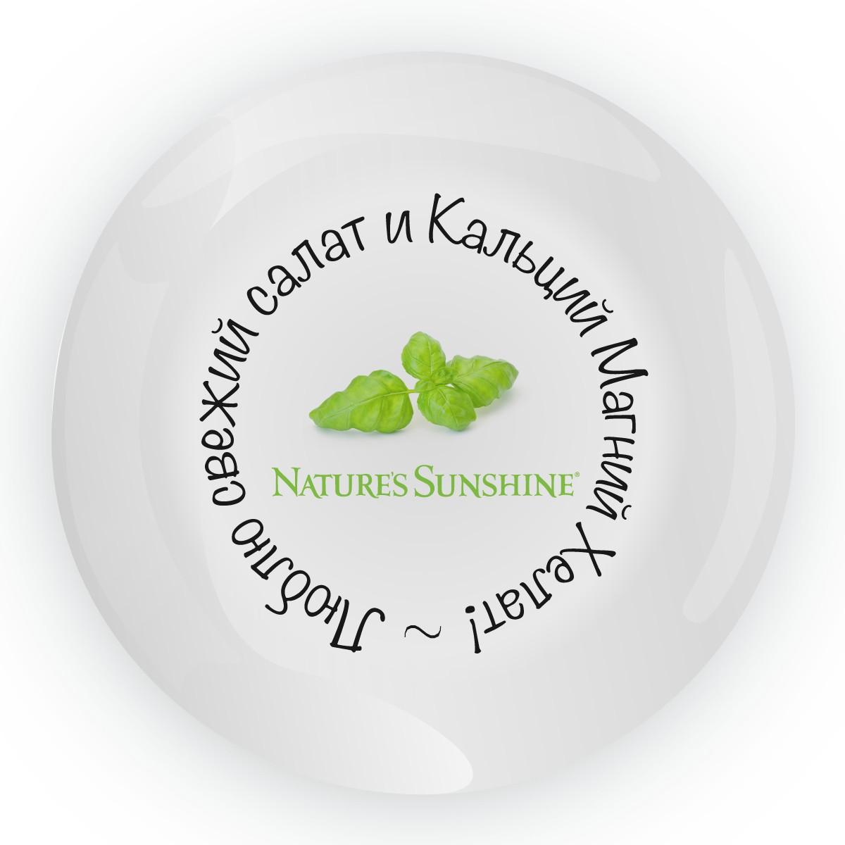 Декоративная тарелка NSP (1 вариант)
